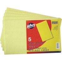Blocs de papier jaune Hilroy