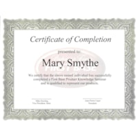 St. James Certificates