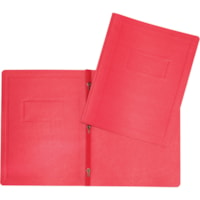 Hilroy 3-Prong Report Cover, Red, Letter Size