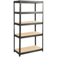 Safco Boltless Steel and Particle Board Shelving, 36