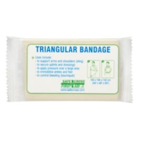 SAFECROSS Triangular Bandage, Compressed, Single Pack