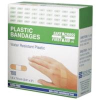 Pansements en plastique résistants à l'eau SAFECROSS