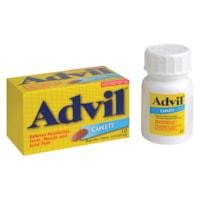 Caplets d'ibuprofène enrobés Advil