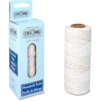 Crownhill White Cotton Multi-Purpose Twine, 100 m