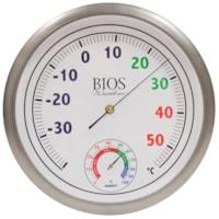 Thermomètre à cadran de couleur avec hygromètre BIOS Living