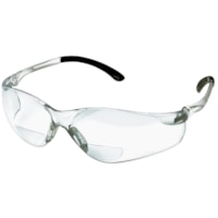 Denec SenTec Magnifier Safety Glasses, Bifocal +2.5, With Clear Lens