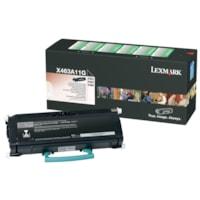 Cartouche de toner à rendement standard Lexmark X463, X464, X466 Programme de retour (X463A11G), noir