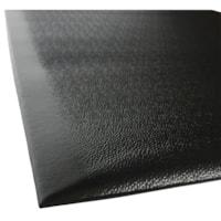 Floortex Easy Foot Anti-Fatigue Mat, Black, 24