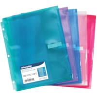 Pochette pour reliure Winnable, format lettre, couleurs variées (aucun choix de couleurs pour les commandes sur livraison)