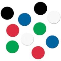 Quartet Ceramic Magnets, Assorted Colours, 1/2