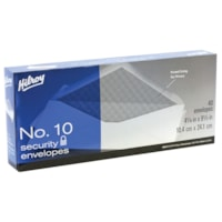 Hilroy Standard #10 White Security Envelopes
