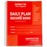 The Original Teacher Daily Plan Book, Number Two