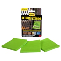 Post-it Extreme Notes, Green, 3