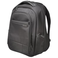 Kensington Contour 2.0 Executive Laptop Backpack, Black, Fits laptops up to 15.6