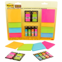 POST IT NOTES & FLAGS COMBO
