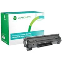 Grand & Toy Remanufactured HP 83A Black Standard Yield Toner Cartridge (CF283A)