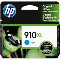 HP 910XL Cyan High Yield Ink Cartridge (3YL62AN)