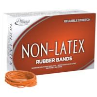 Bandes élastiques sans latex Alliance, nº 33, orange, boîte de 1 lb