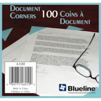 Blueline Document Corners