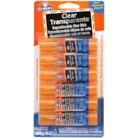Elmer's Repositionable School Glue Sticks, 8 g/Each, 6/PK