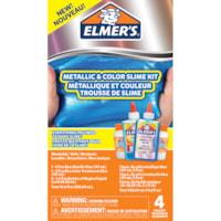 Trousse de slime métallique et couleur Elmer's, bleu chrome