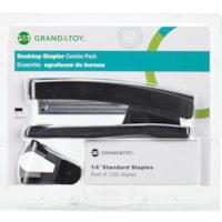 Grand & Toy Desktop Stapler Combo Pack