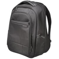 Kensington Contour 2.0 Executive Laptop Backpack, Black, Fits laptops up to 14