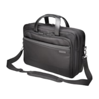 Kensington Contour 2.0 Laptop Briefcase, Black, Fits Laptops up to 17