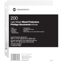G&T SHEET PROT 2.0MIL CLEAR