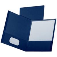 Oxford Executive-Style Linen Twin-Pocket Folders