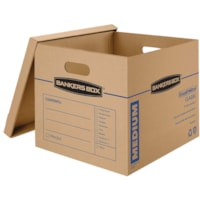Bankers Box SmoothMove Classic Storage Boxes, Medium, 15 1/2