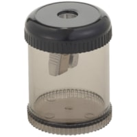 Integra Handheld 1-Hole Pencil Sharpener, Smoke