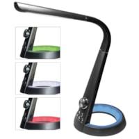 Lampe de bureau à DEL avec veilleuse et port USB Royal Sovereign
