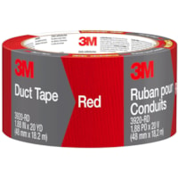 3M 3920 General Purpose Duct Tape, Red, 48 mm x 18.2 m