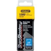 Stanley SharpShooter Heavy-Duty Tracker Staples, 3/8