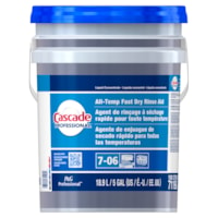 Cascade Professional All-Temp Fast Dry Rinse Aid, Concentrate Closed Loop