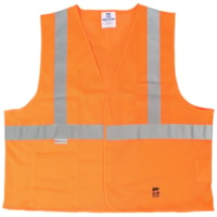 Open Road Mesh Safety Vest, Orange, Size L/XL