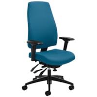 Global G1 Ergo Select Multi-Tilter Chair, Executive-Back, Blue, Terrace Fabric