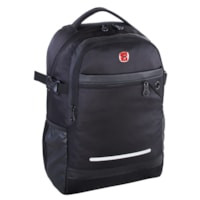 SwissGear Computer and Tablet Backpack with USB Port, Black, Fits Laptops up to 15
