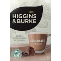 Higgins & Burke Chocolate Embrace Hot Chocolate Mix, 30 g, 8/BX