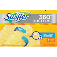 Swiffer 360° Unscented Duster Cleaner Refills, 6/Box