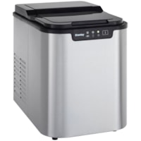 Danby 2 lb. Countertop Ice Maker, Stainless Steel