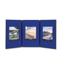 Quartet Exhibition 3-Panel Tabletop Display System, 72
