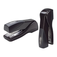 Swingline Optima Compact Grip Stapler, Half-Strip, Black, 25-Sheet Capacity
