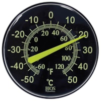 BIOS Living Neon Dial Thermometer, 12