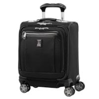 Travelpro Platinum Elite Carry-On Spinner Tote Bag, Black, 16