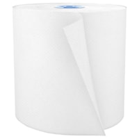 Cascades PRO Perform 1-Ply Hand Paper Towels for Tandem Dispenser, White, 775', 6/CS