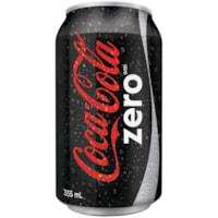 Coca-Cola Soft Drinks, Coke Zero, 355 mL, 12/CT