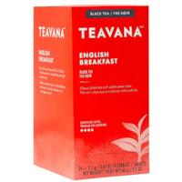 Teavana Tea Sachets, English Breakfast, 2.5 g, 24/BX