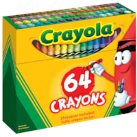 Crayola Crayons, Assorted Colours, 64/PK